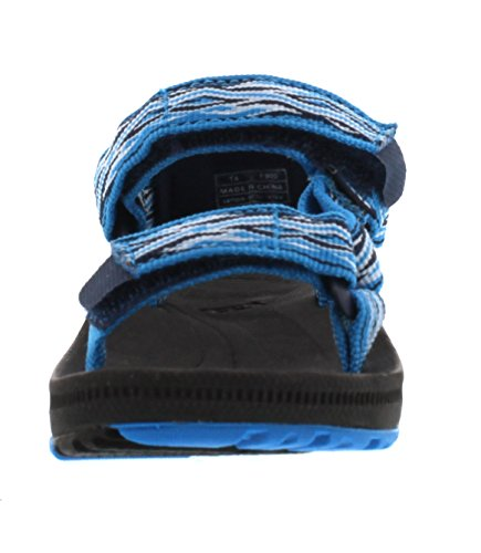 Teva Hurricane 2 Ts Unisex-Kinder Sport & Outdoor Sandalen Blau (Mad Waves Blue 889)