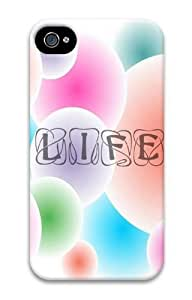 Colorful Life PC Case for iphone 4S/4