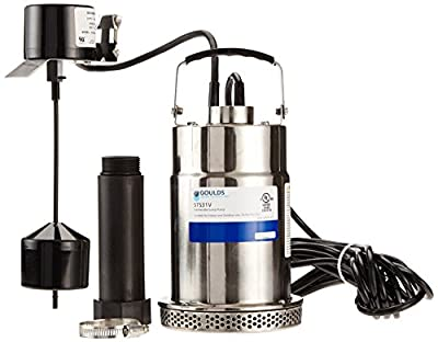 STS31V Goulds Submersible Sump Pump 1/3 HP 115 V