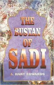 Read The Bustan of Sadi PDF