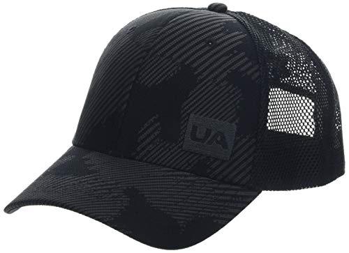 (Under Armour Men's Blitzing Trucker 3.0 Cap, Black//Jet Gray, One Size Fits All )