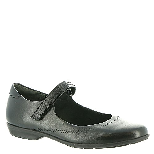 Jane Walking Black Cradles Closed Womens Flats Jane Mary 2 Toe ggFE7rx