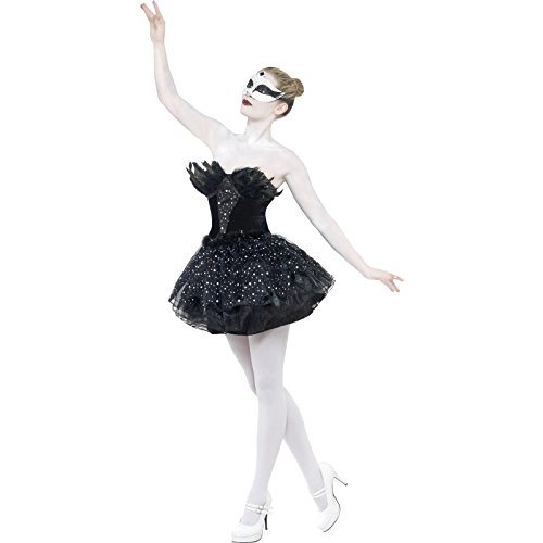Smiffys Gothic Swan Masquerade Costume