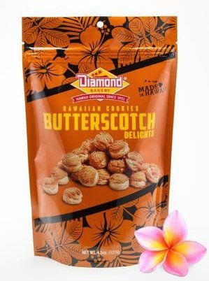 Hawaiian Cookies, Butterscotch Delights 4.5oz (127g)