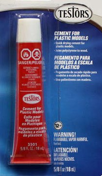 (TESTORS CEMENT FOR PLASTIC MODELS [Toy])