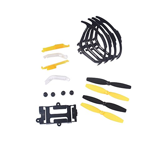 YouCute Spare Part Kit for Udi U27 Rc Quadcopter Drone blade protecting frame lampshade pads battery frame by YouCute