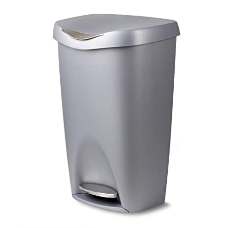 Amazon.com: 13g Trash Can with Lid - Large Kitchen Garbage ...