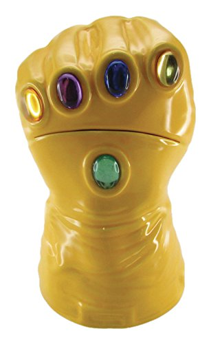 Surreal Entertainment Marvel Heroes The Infinity Gauntlet Cookie Jar (Infinity Gauntlet Gems)