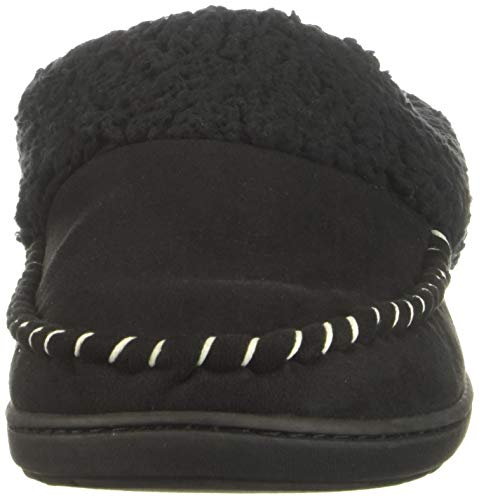 Clog Slipper Women's Microsuede Dearfoams Black EH6qWY