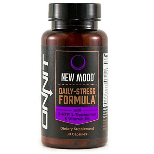 Onnit New MOOD Daily Stress and Mood Support Supplement, 30 Count