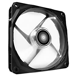 Nzxt Technologies Rf-fz120-w1 Nzxt Fz-120mm Led Airflow Fan Series Cooling Case Fan - White