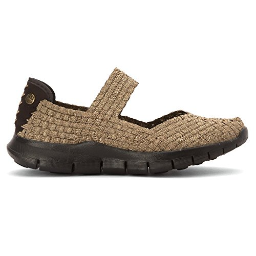 Bernie Mev Donna Campione Slip-on Casual Scarpa In Bronzo Multi