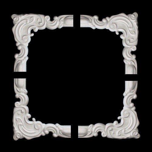 Set of 1 segmenti per suprabig i-18 segmenti angolari NE-18-02D (1 Set - 4 segmenti) Marbet Design