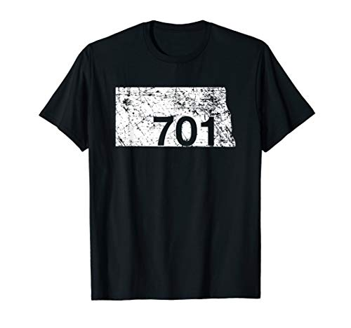 North Dakota Area Code 701 Shirt, Hometown Souvenir Gift