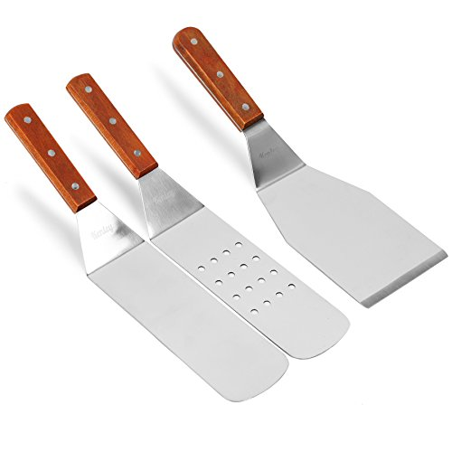 Kenley Griddle Spatula Amp Scraper Set 7 Piece Tools