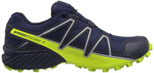 Salomon Hombres Speedcross 4 Gtx Trail Running Zapatos Medieval Blue