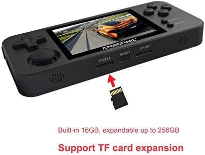 Icejoy RG280M ポータブルレトロゲーム機 Retro Game Linux OpenDinguxシステム 3Dジョイスティック 2.8インチIPSスクリーン 10000種ゲーム内蔵 シミュレータ互換機 アルミニウム合金ケース メモリカードある/メモリカードなしオプション