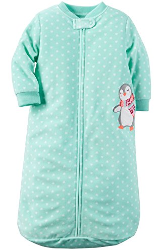 carters-one-piece-zoo-animals-micro-fleece-sleep-bag-or-sack-0-9-months-turquoise-heart-penguin