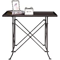 Creative Co-Op HD6145 Metal Table with Bronze Finish
