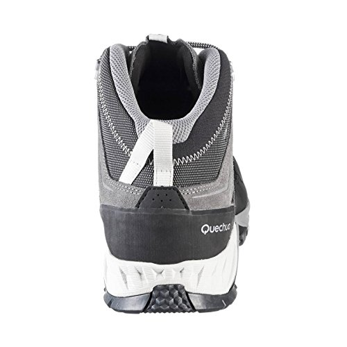 48941059aa3 Quechua MH 500 Men s MID Waterproof Mountain Hiking Boots - Grey  Buy  Online at Low Prices in India - Amazon.in