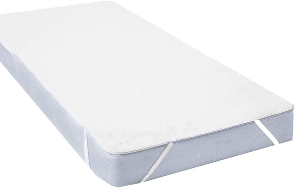XGao Quilted Fitted Mattress Pad Waterproof Breathable Sheet Mattress Protector with Super Absorbent Fill Layer 100/% Soft Cotton Blend Cover Surface Non Slip Incontinence Bed Pads