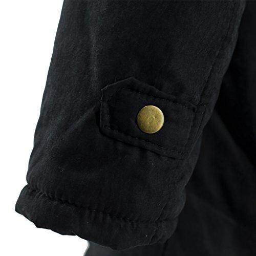 Blivener - Sudadera con capucha - para mujer negro