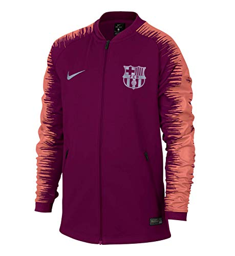 (NIKE 2018-2019 Barcelona Anthem Jacket (Deep Maroon) -)