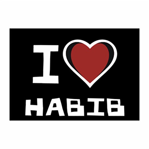 teeburon-i-love-habib-pack-of-4-stickers