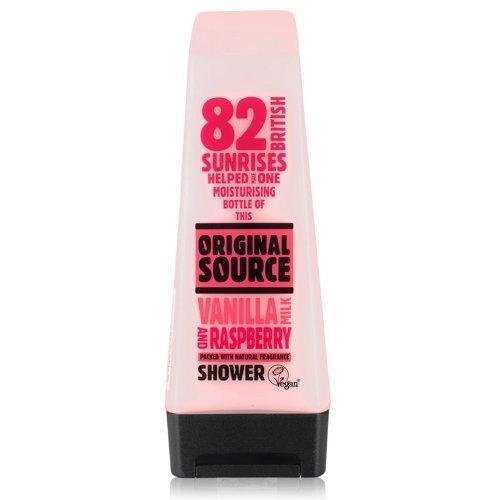 Original Source Vanilla & Raspberry Shower 250ml - Pack of 4