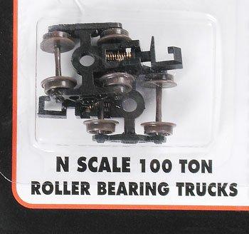 Rapido Couplers - ATLAS MODEL 22070 100-Ton Roller Bearing Trucks w/Rapido Couplers N