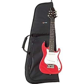protec 1 2 size electric bass guitar standard gig bag musical instruments stage. Black Bedroom Furniture Sets. Home Design Ideas