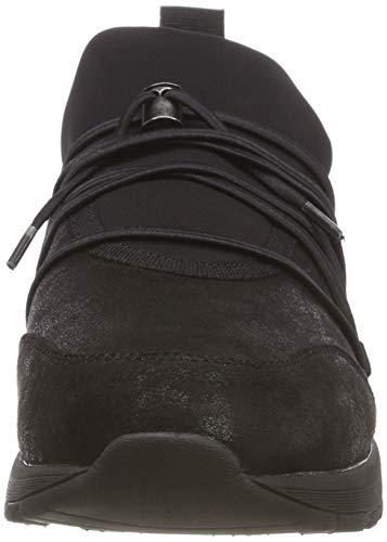 Zapatillas 5 1 5 sin 001 Oliver Black s 21 Cordones 23606 Negro para Mujer nwxaY5n0Oq
