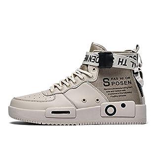 XIDISO Fashion Mens Sneakers High Top Walking Shoes School Teen Sport Athletic Running Shoe for Men