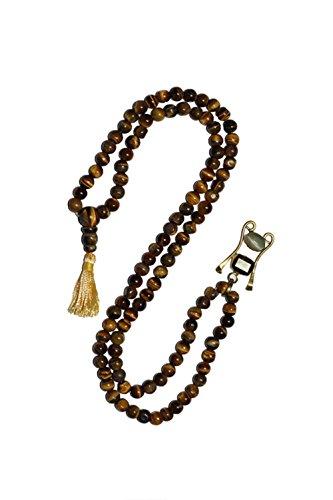 Intérieur Mogul de guérison de méditation Mala bouddhiste en perles perles œil de tigre pierres de guérison puissant Chakra Yoga-Collier Femme