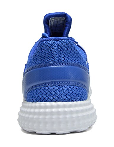DREAM PAIRS 5003 Mens New Light Weight Go Easy Walking Casual Athletic Comfortable Running Shoes Sneakers 160821-royal White akIwJC