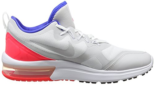 Nike Air Max Fury, Scarpe da Running Uomo Multicolore (White/Ultramarine/Solar Red/Bl)