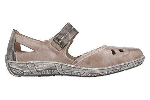 REMONTE Damen Ballerinas Sandalen beige 941925-8 Marron 8VR5QL