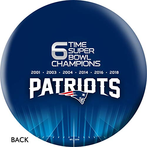NFL Super Bowl LIII Champs - New England Patriots Bowling Ball (12)