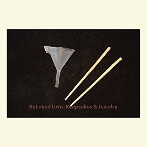 Funnel Filling Cremation Jewelry Keepsakes