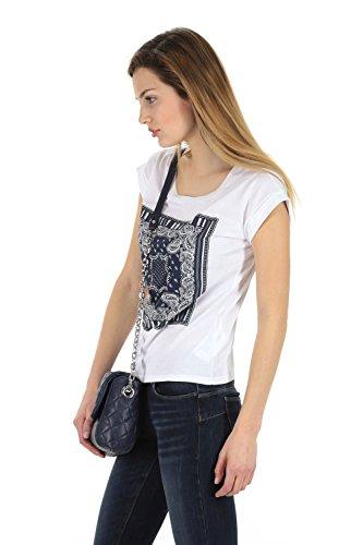 LIU JO Impresión de camisetas Jacquard - XS, BIANCO