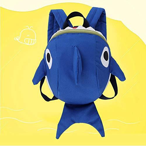 Amazon.com: Childrens School Bag Unisex Shark Shaped Backpack Anti-Lost School Bag: Baby