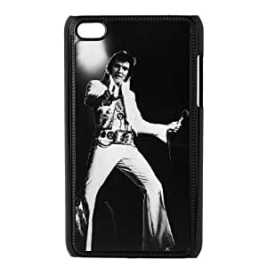 iPod Touch 4 Case Black Elvis Presley scum