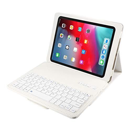 YOUNGFUN iPad Keyboard Case for iPad Pro 11 inch 2018, Detachable Wireless Bluetooth Case with Keyboard, Luxury PU Leather Cover, Auto Sleep/Awake [Apple Pencil Charging -