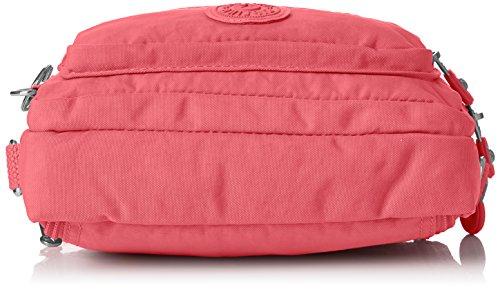 25 cm Rose sport Pink White Tile Kipling banane City Blanc Multiple Sac xqaIU4