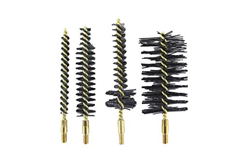 Pro Shot Total Fouling Removal 4 Brush Nylon Bristle Kit for AR15 .223-Caliber