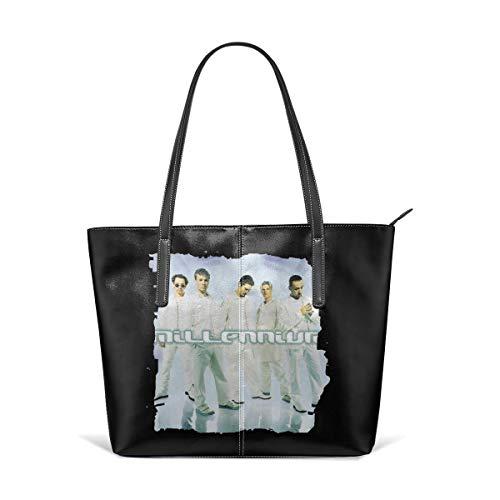 Tote Bag Backstreet Boys Millennium Logo Totes Purse Handbags Shoulder Bags For - Handbag Millennium Leather