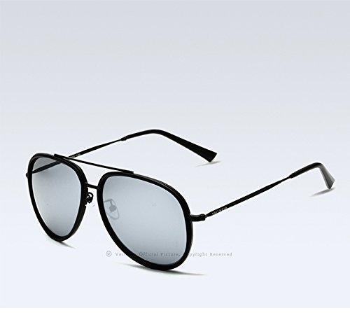 Libre Sol Gafas Espejo Solgafas De Sol De Vacaciones De Azul Conducen De Color Masculino Aire De Polarizado Vacaciones Viaje Al Gafas Plata Revestidas Limotai De De Que De 6xYI4qYw