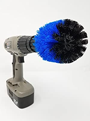 The Beast Brush - Cone Power Brush Drill Attachment for Cleaning Showers, Tubs, Bathrooms, Tile, Grout, Carpet, Tires, Boats