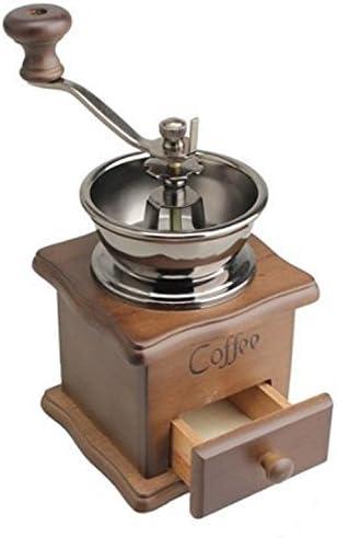 Vintage Coffee Grinder.Garantied Forged Grinder.Vintage Hand Crank Wooden Coffee Grinder.Vintage Kitchen Decor.Coffee Bar Decor.Coffee Lover