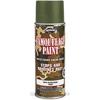Army Green Spray Paint For Plastic
